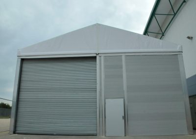 10m Wide with UPVC Walling - Industrial Tent