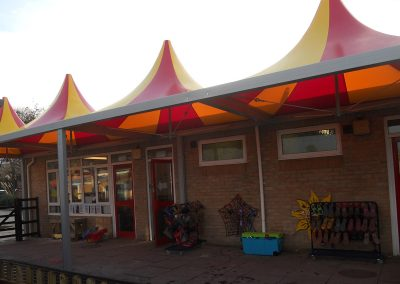School static covered canopy tents for work