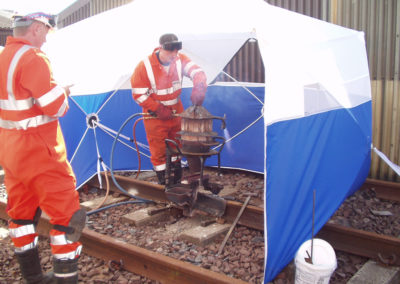 Railway Welding Tent for Protection