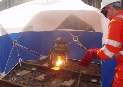 Welding Tent Protection