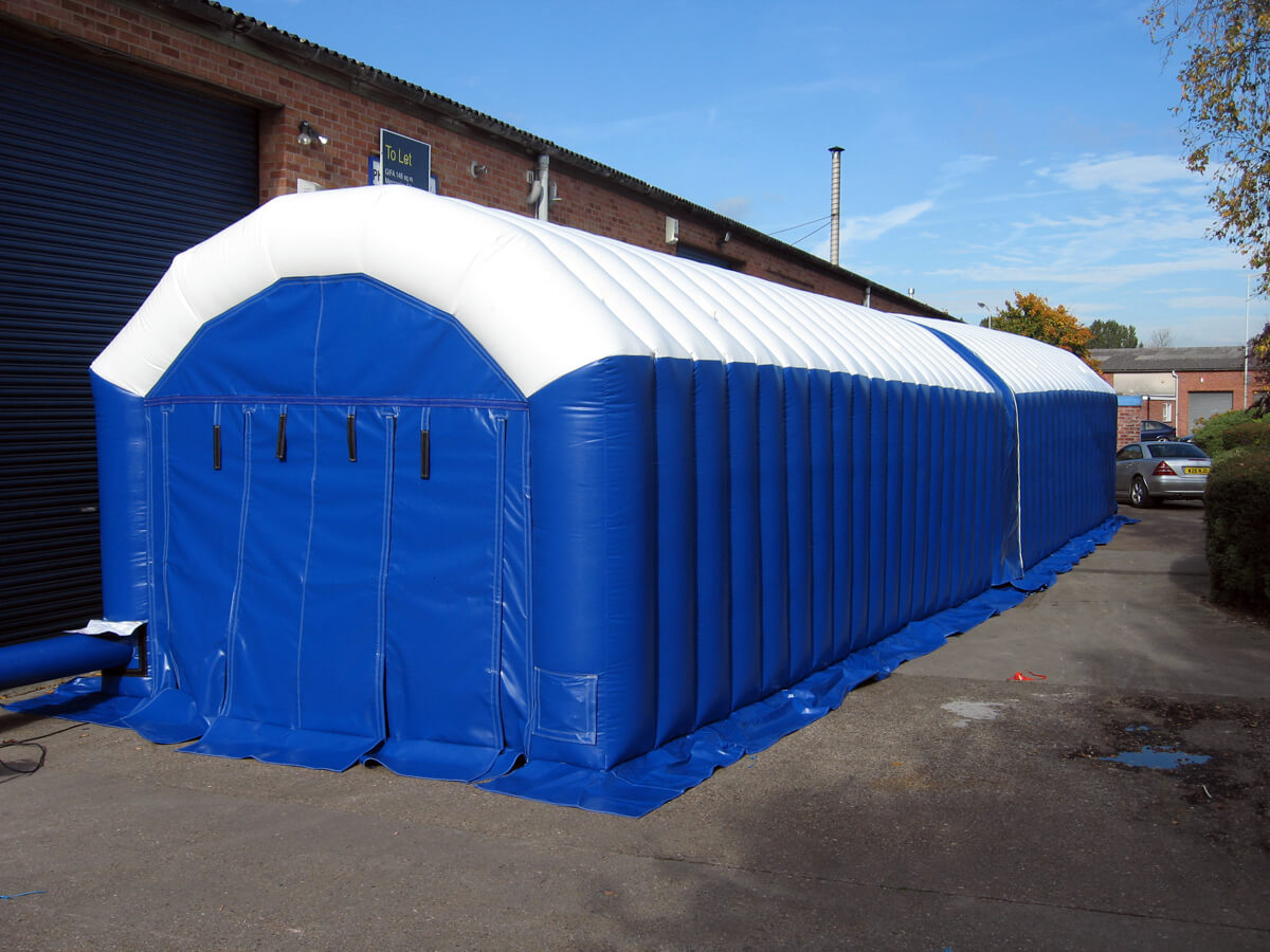 Work Tents - Inflatable Buildings temporary or permanent