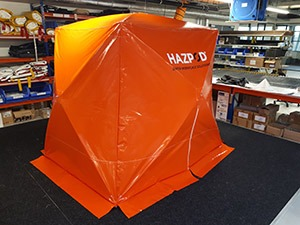 HAZPOD Safer workplace solutions tents for work