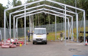 Industrial Structure Frame