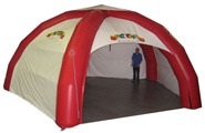 5 Legged Inflatable Tents and Buildings