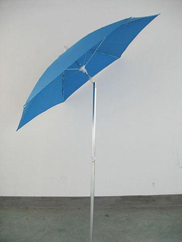Blue Tilting Welding Umbrella