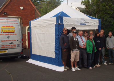 Youth Work Tents
