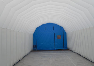 Inflatable Buildings for Wind Turbine Blade Repair